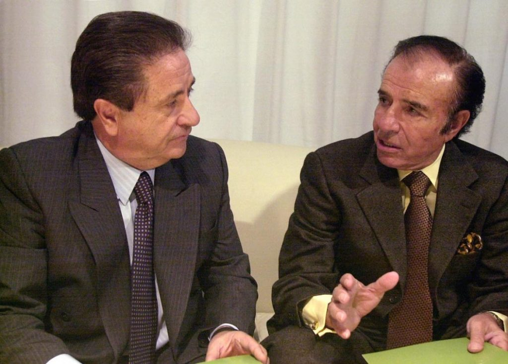 Carlos Menem y Eduardo Duhalde ganaron las elecciones presidenciales el 14 de mayo de 1989 con el 47% de los votos